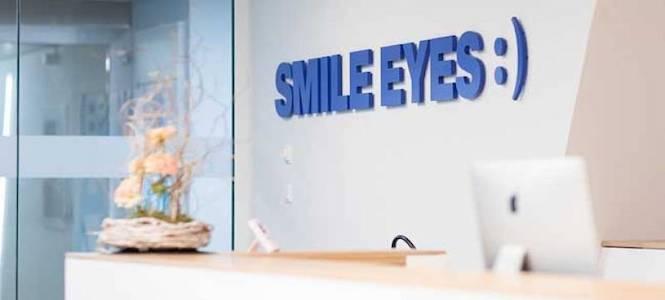 Augenlaser Klinik Empfang Smile Eyes